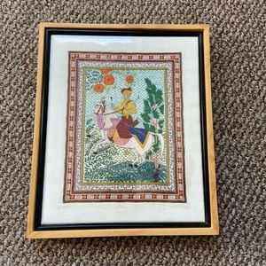 Asian handcrafted wall art